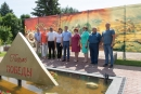 В Подлесновском доме-интернате установили памятник фронтовому письму