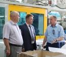 Профсоюзный лидер посетил предприятия авиационной промышленности области