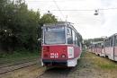 Профсоюз поздравил Заводское трамвайное депо с юбилеем